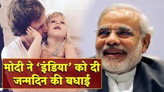 Narendra Modi wishes Jonty Rhodes daughter says happy birthday India from India
