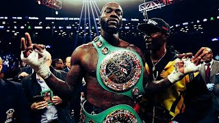 "Deontay Wilder 2018 Highlights ""The Bronze Bomber"""