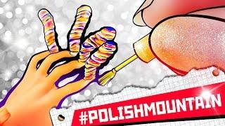 100 COATS OF NAIL POLISH ON NAILS DOLL | DollHouse DIY ♥
