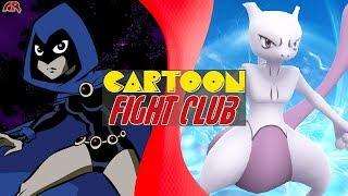 RAVEN vs MEWTWO (DC vs Pokémon) | CARTOON FIGHT CLUB!