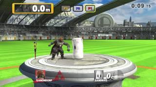 Super Smash Bros. U - Homerun Contest versus (3p: Ness, Ike, Ganondorf)
