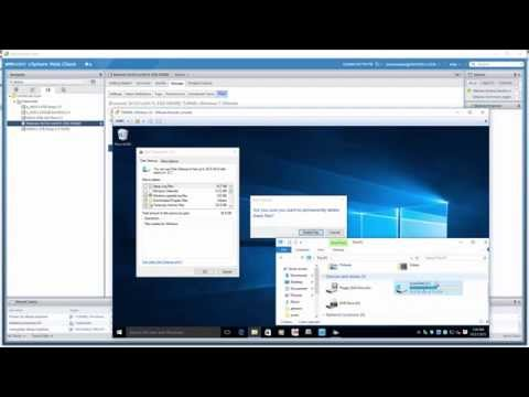 Xxx Mp4 Free Up ESXi Local Drive VMFS Datastore Space After Deleting Data In A Thin Provisioned Windows VM 3gp Sex