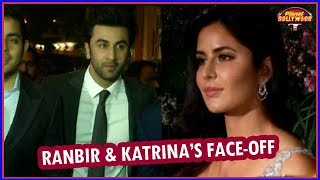 Ranbir Kapoor - Katrina Kaif's Face -off At Virat–Anushka's Reception | Bollywood News