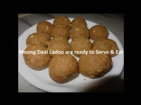 Moong Daal Ladoo Recipe
