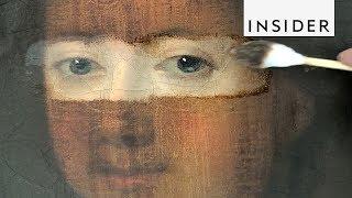 How Art Conservators Clean Paintings