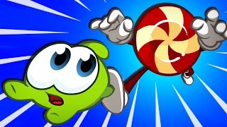 Om Nom Stories: MAD TEA PARTY   Cut The Rope Magic NEW Episodes   Funny Cartoons for Children