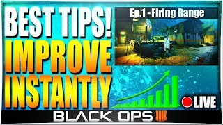 BO4 MULTIPLAYER TIPS AND TRICKS! How to Get Better at Black Ops 4 (How to Improve at BO4 - Ep.1)