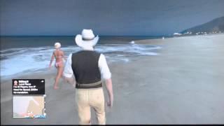 Talking to Girl on the Beach, Be Cool! GTA Game Night 5
