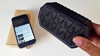 Rugged Wireless Bluetooth Speaker - Dust/Shock/Water Resistant - Under $30