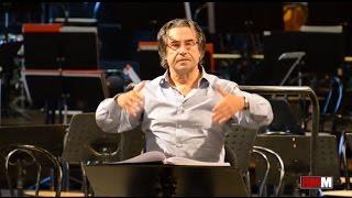 Riccardo Muti prova Nabucco - Va' Pensiero