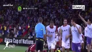 هدف محمد جدو على غانا في نهائي كأس امم افريقيا 2010   تعليق عصام الشوالي   YouTube