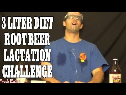 Root Beer Makes You Lactate!? (3 Liter Chug in 5 Minutes)   FreakEating Challenge 48