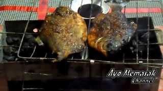 Resep dan Cara Memasak Ikan Bawal Bakar