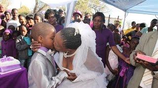 متع عقلك مع قصة الحياة الزوجية للطفل الذي تزوج إمرأة عجوز بجنوب أفريقيا ـ غرائب و عجائب الزواج