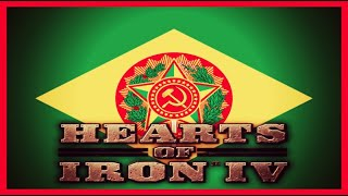 Hearts of Iron IV Multiplayer - Brazil Communist Alliance #1 - Sailing the Atlantic
