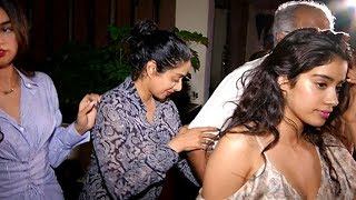 Drunk Sridevi clicked at her 54th Birthday | Video