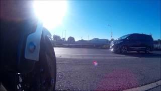アクションカメラ ローアングル固定テスト動画