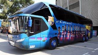 FC BARCELONA'S BUS