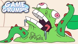 Game Grumps Animated - Nega Yoshi - by Natar