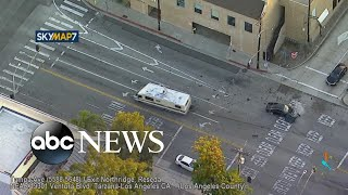 Wild high-speed chase in Southern California