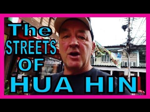 The Streets of Hua Hin Thailand