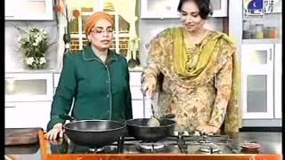 Farzana Abid At Rahat's Cooking on Geo Tv