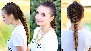 The Dragon Braid   Cute Girls Hairstyles