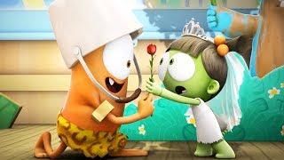Funny Animated Cartoon | Spookiz | ❤️ Kebi