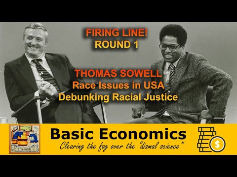 Firing Line Thomas Sowell w William F. Buckley Jr. 1981