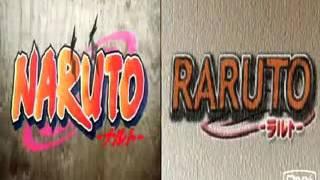 Naruto y Raruto opening