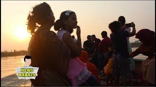মুন্সিগন্জের পদ্মা নদীতে নৌকা ভ্রমন দেখুন Padma River Munshiganj District, Dhaka, Bangladesh