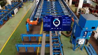 PRG Profile Robot Cutting Line For Shipyard, Steel Construction