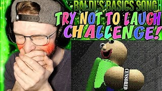 "Vapor Reacts #823 | BALDI'S BASICS SONG TRY NOT TO LAUGH ""You're Mine"" by DAGames REACTION!!"