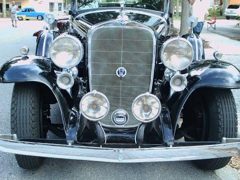 1932 Cadillac Town Sedan V12 Blk NewSmyrna041115
