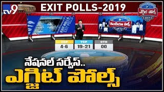Exit poll results 2019 AP: Verdict split between YCP and TDP - TV9