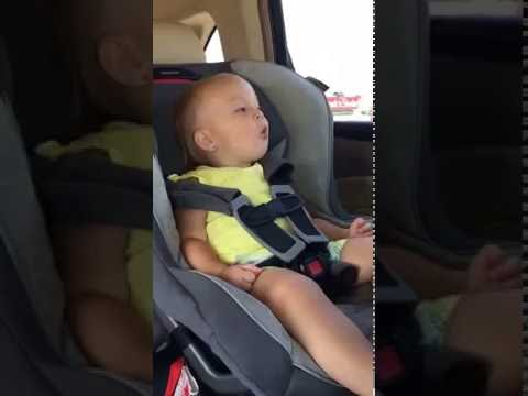 """Adorable Baby Passionately Sings Florida Georgia Line's """"H O L Y """""""