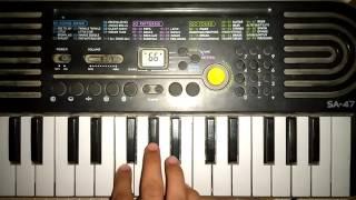 Sairat Zala Ji Full Song on piano