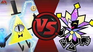 BILL CIPHER vs DIMENTIO! (Gravity Falls vs Paper Mario) CFC Bonus Episode 31