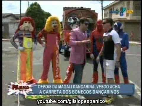 Pânico Na TV 13 02 2011 Vesgo com o Trenzinho Carreta Furacão
