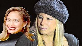Barbra Streisand´s reaction to Jennifer Lopez Vocals