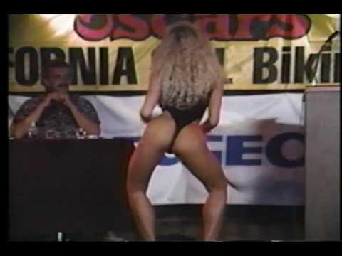 Pam Brown 1990 s Oscar s Bikini Contest