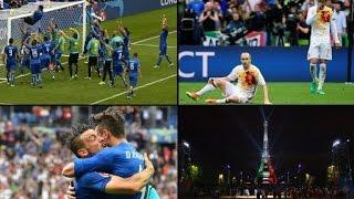 Spanien besiegt, nun wartet Deutschland: Italien zieht weiter