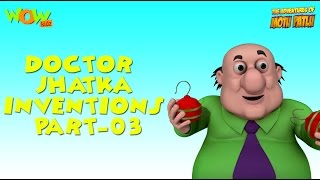 Doctor Jhatka's invention - Motu Patlu Compilation - Part 3 - 45 Minutes of Fun!