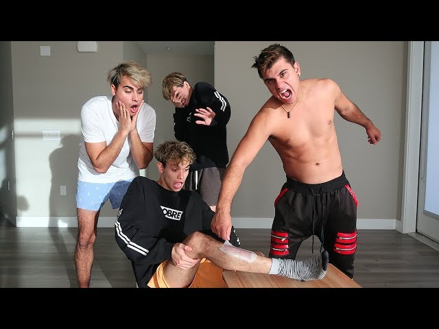 THIS WAXING GAME GOT CRAZY! (It hurt)