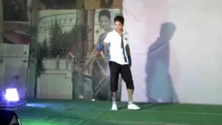 Super dance by college boy