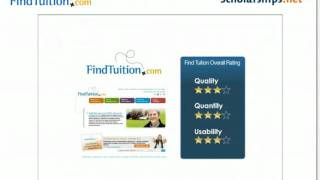 Finding College Scholarships on Find Tuition.com