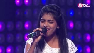 Aditi Khandelgal - Chalo tumko lekar   The Blind Auditions   The Voice India 2