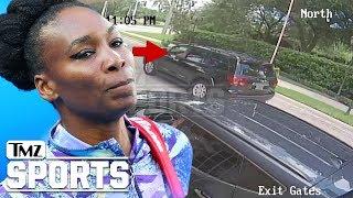 Harvey's Take On Venus Williams Fatal Car Crash (Surveillance Video) | TMZ Sports