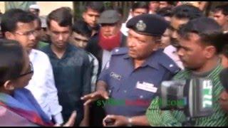 Keya Chowdhury Mp vs Police