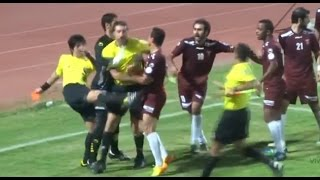Football/Soccer Funniest Referee Fails!| Fights, Punches and More!